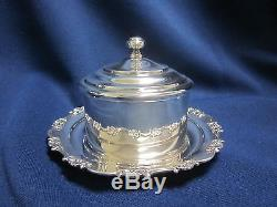 Vintage Kichigoro Uyeda 950 Sterling Silver 6 Piece Coffee & Tea Set Coffee Pot
