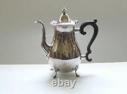 Vintage La Paglia Sterling Silver 3-Piece Coffee /Tea Set, 1040 grams