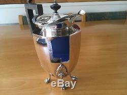 Vintage Mappin & Webb Tea/Coffee Set Tea Pot, Coffee PotSugar Bowl and Milk Jug