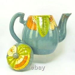 Vintage Mexican Pottery Coffee Tea Set Art Deco