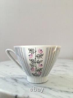 Vintage Mid Century Swedish Upsala Ekeby coffee pot set Collectable