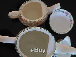 Vintage Minton Bone China Haddon Hall Tea & Coffee Service Set & More 40pc