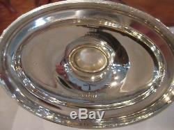 Vintage Plymouth Gorham Sterling Silver Coffee Tea Set. 925 Sugar/Candy Basket