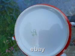 Vintage Porcelain Coffee Tea set Button Bud for six people (Baranovka USSR) box