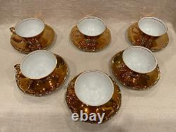Vintage RWK Rudolph Wachter Tea/Coffee Set, Gold Plated, Nice
