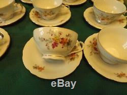 Vintage Rare Epiag D. F. Czecho Slovakia Porcelain Tea/coffee Set