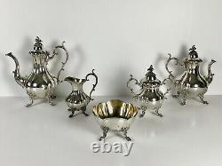 Vintage Reed & Barton Winthrop Silverplate Tea & Coffee Set