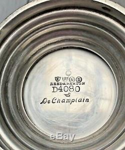 Vintage Reed and Barton De Champlain D4080 3 Piece Coffee Set EPNS