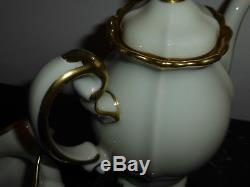 Vintage Rosenthal China Selb Germany Pompadour Baroque Gold Coffee Set