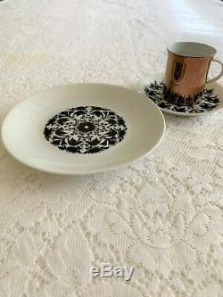 Vintage Rosenthal Demi Tasse Coffee Set Hilton 29 pieces (Serving pieces incl)