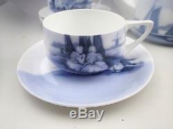 Vintage Rosenthal Donatello Bavaria Blue & White Old Dutch Tea Coffee Set