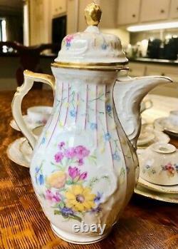 Vintage Rosenthal Sanssouci Demitasse Coffee Set for 6
