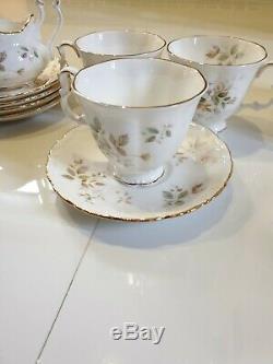 Vintage Royal Albert Haworth 15pc Coffee Set