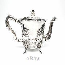 Vintage Royal Irish Silver Co 4pc Strl Slv Dairymaid Tea and Coffee Set #6742