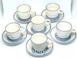 Vintage Set STIG LINDBERG GUSTAVSBERG Demitasse Coffee Cup & Saucer DART, 1960