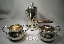 Vintage Spratling Sterling Silver Hand Wrought Coffee Set