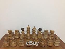 Vintage Vienna Coffee House Chess Set, King 110mm