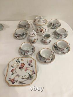 Vintage Wedgwood Devon Rose Collection Coffee Set