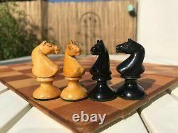 Vintage/antique austrian/vienna coffee house chess set