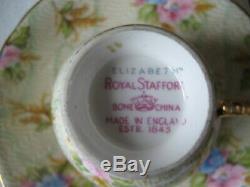 Vintage royal stafford coffee set 15 pieces
