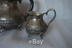 Vintage silver Sterling coffee set, early 19s, 1030 gram