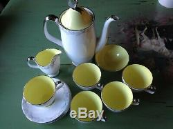 Vintage stunning Royal Albert Bone China sylvan coffee Set