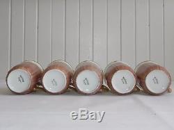 Vtg 12 piece Porcelain Haviland Limoges Chocolate Coffee Pot Pitcher Lidded Set