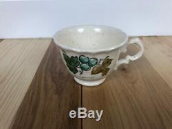 Vtg Vernon Ware by Metlox Vineyard Complete Tea Coffee Set 35 Piece RARE (C50)