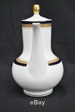Vtg. Winterling Echt Cobalt Kobalt Scharffeur Coffee Pot Creamers Sugar Bowls