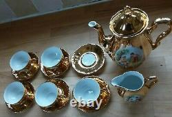 WINTERLING Marktleuthen Bavaria Vintage Gold Coffee Set