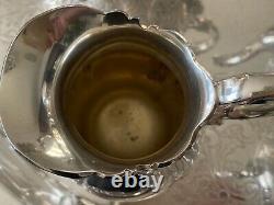 Wallace Grand Baroque Tea & Coffee Set Vintage Siverplate Set