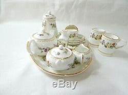 Wedgwood Miniature Tea Coffee Set Mirabelle 18 pcs Porcelain China Vintage