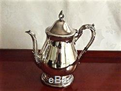Wonderful Vintage Silver Plated Tea & Coffee Set On Tray Viners