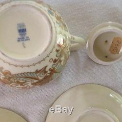 Zsolany Pecs Hungarian Mocha Coffee Set Vintage