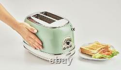 Ariete Vintage Green Kettle, Grille-pain Et Cafetière Filtre