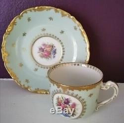 Belle Française Vintage Café Set Limoges Havilande Porcelaine Décor Par Raynaud