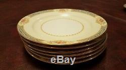 Belle Vintage Noritake Japon Occupé Chine 21 Piece 6 Réglage Thé Et Café Set