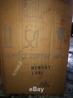 Bnib Vintage Royal Albert Mémoire Lane 15pc Café