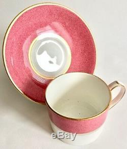 Ensemble De 6 Tasses Et Soucoupes À Thé / Café Vintage Aynsley Senator Bone China
