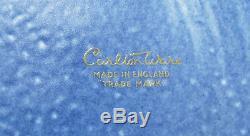 Ensemble De Café / Thé Carlton Ware Bleu Vintage, 15 Pièces