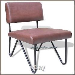 Ensemble De Meubles Industriels 2 Chaise Avec Table Basse