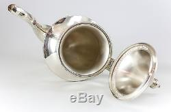 Ensemble De Service Vintage 3pc Artcraft Sterling Silver Coffee. 38,96ozt