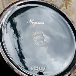 Fantastique Vintage Poterie Gibsons Anglais Luster Ware Or Gilded Set Café