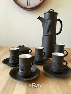 Jens Harald Milieu Du Siècle Quistgaard Dansk Coffee Set Vintage Danois Flamestone