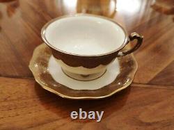 Königszelt Chine Set Vintage Café Pour 9 Personnes, Vers L'an 1920