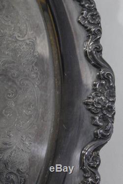 Lancaster Rose Silver Ensemble De Thé À Thé Vintage Epca
