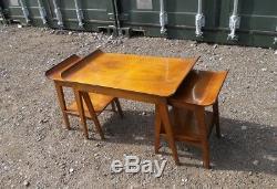 Trio Basses 3 1950s Tables Bentwood Table Lot Vintage Basse Rétro De 2 n8OPw0k