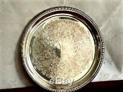Merveilleux Vintage Silver Plated Tea & Coffee Set On Bandeaux Viners