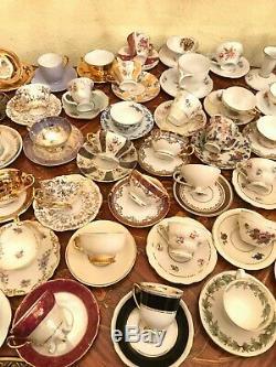 Mixte Vintage Bavière 64-65 Coupes & Saucers Pot Vase Sucre Coupe Ensembles Café
