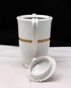 Porcelaine Demitasse Café Set Goldenkey 4360 Vintage MCM Seyei Setomono Japon